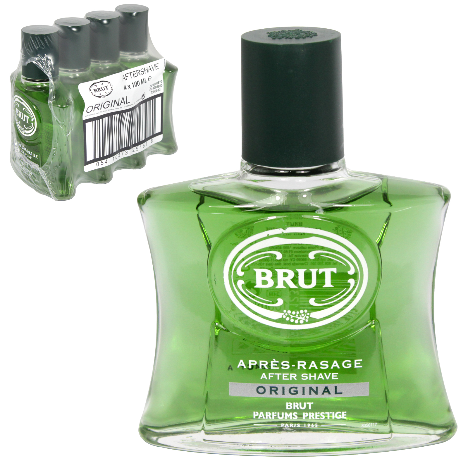 BRUT A/SHAVE 100ML UNBOXED ORIGINAL X4