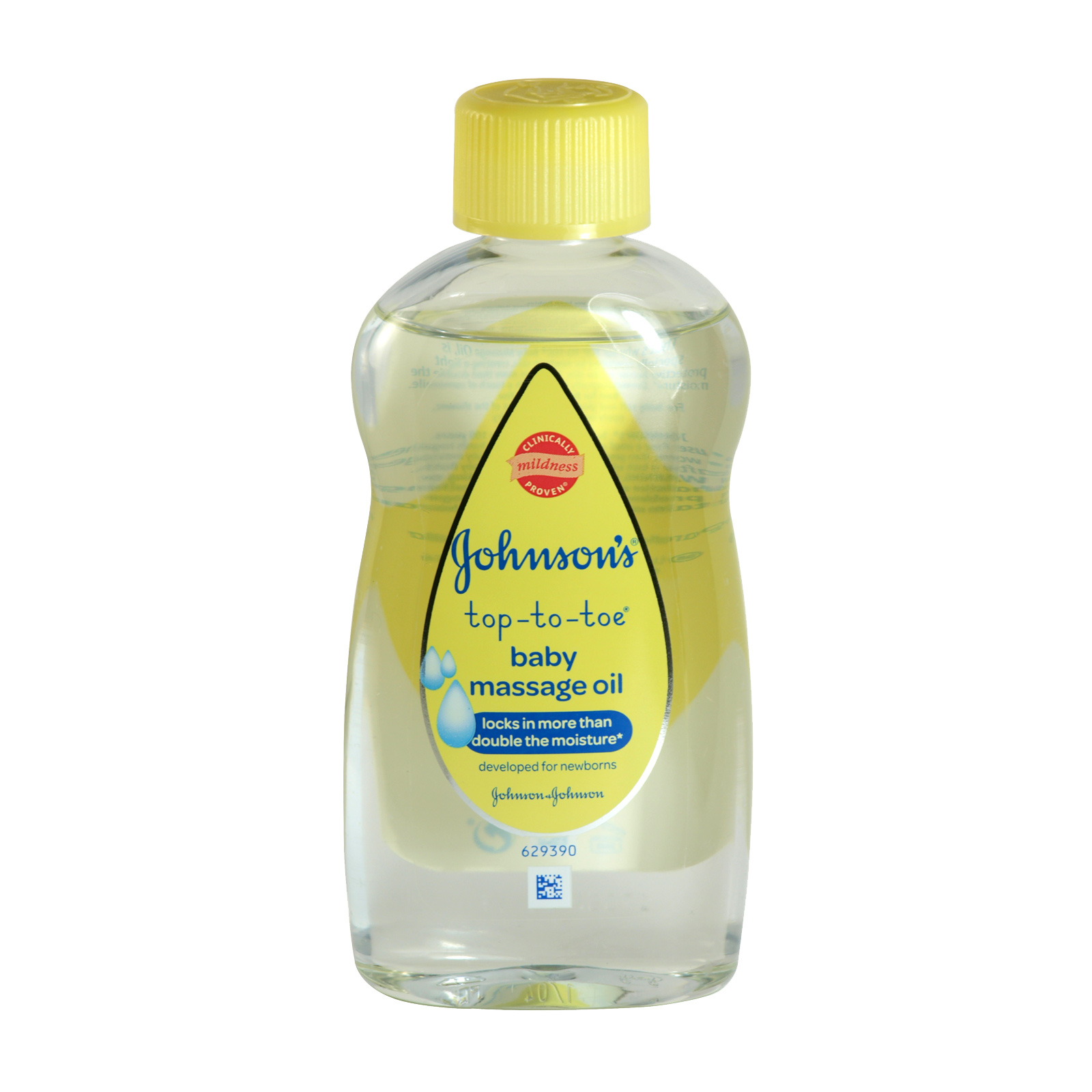 JOHNSONS BABY OIL 200M TOP-TO-TOE MASSAGE X6