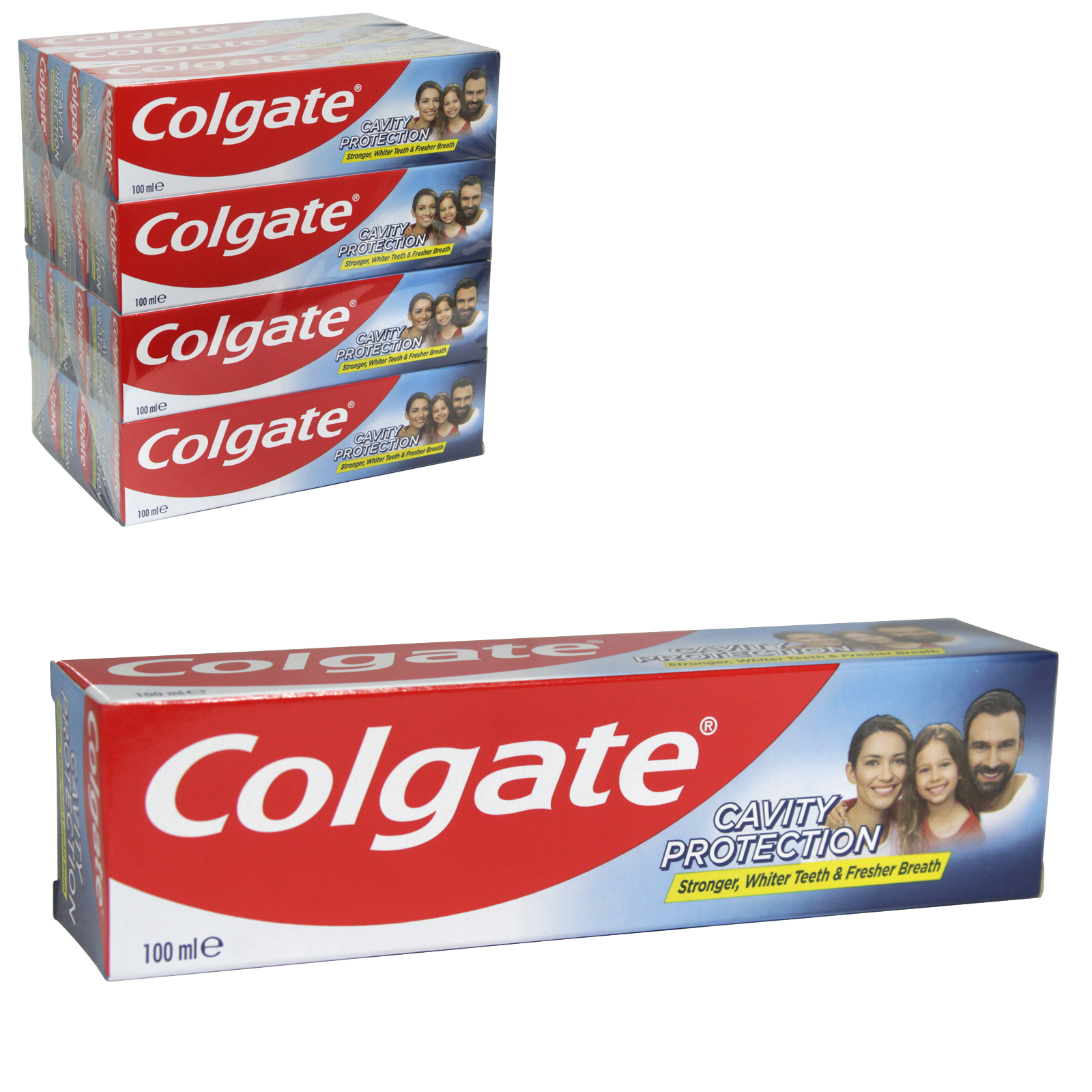 COLGATE TOOTHPASTE 100M CAVITY PROTECTION FRESH MINT X12