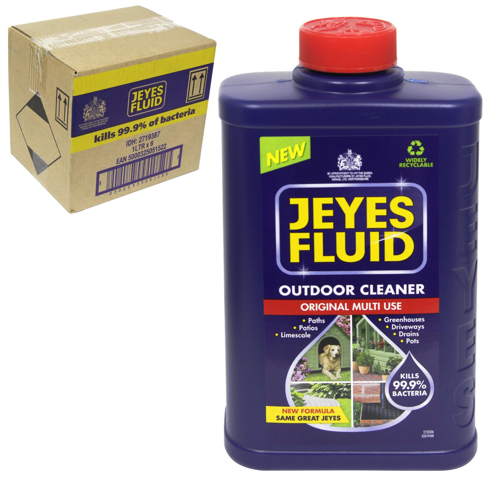 JEYES FLUID 1LIT DISINFECTANT X6