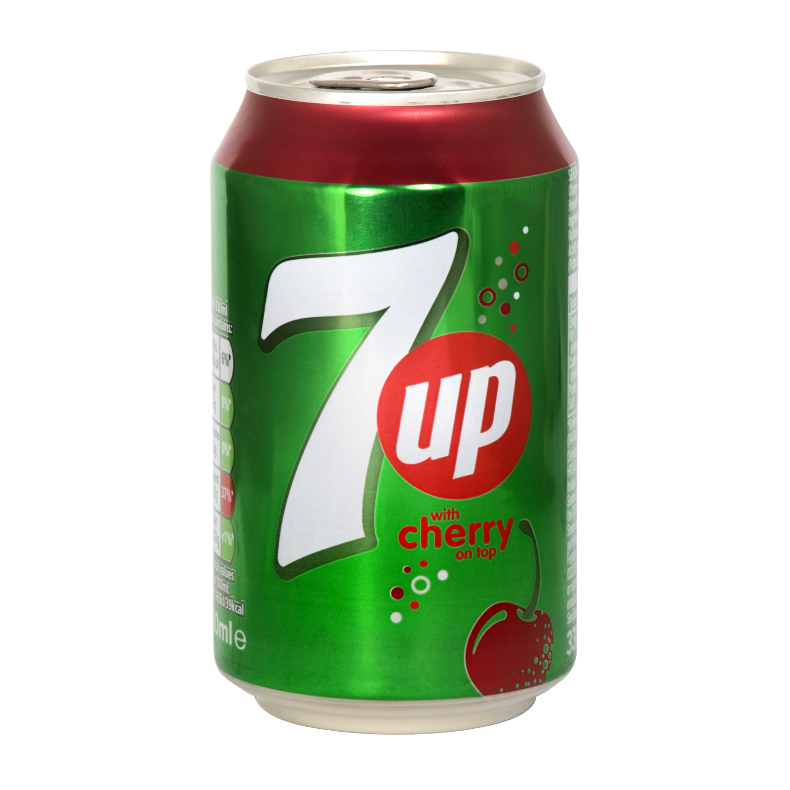 7UP 330ML CAN CHERRY X24