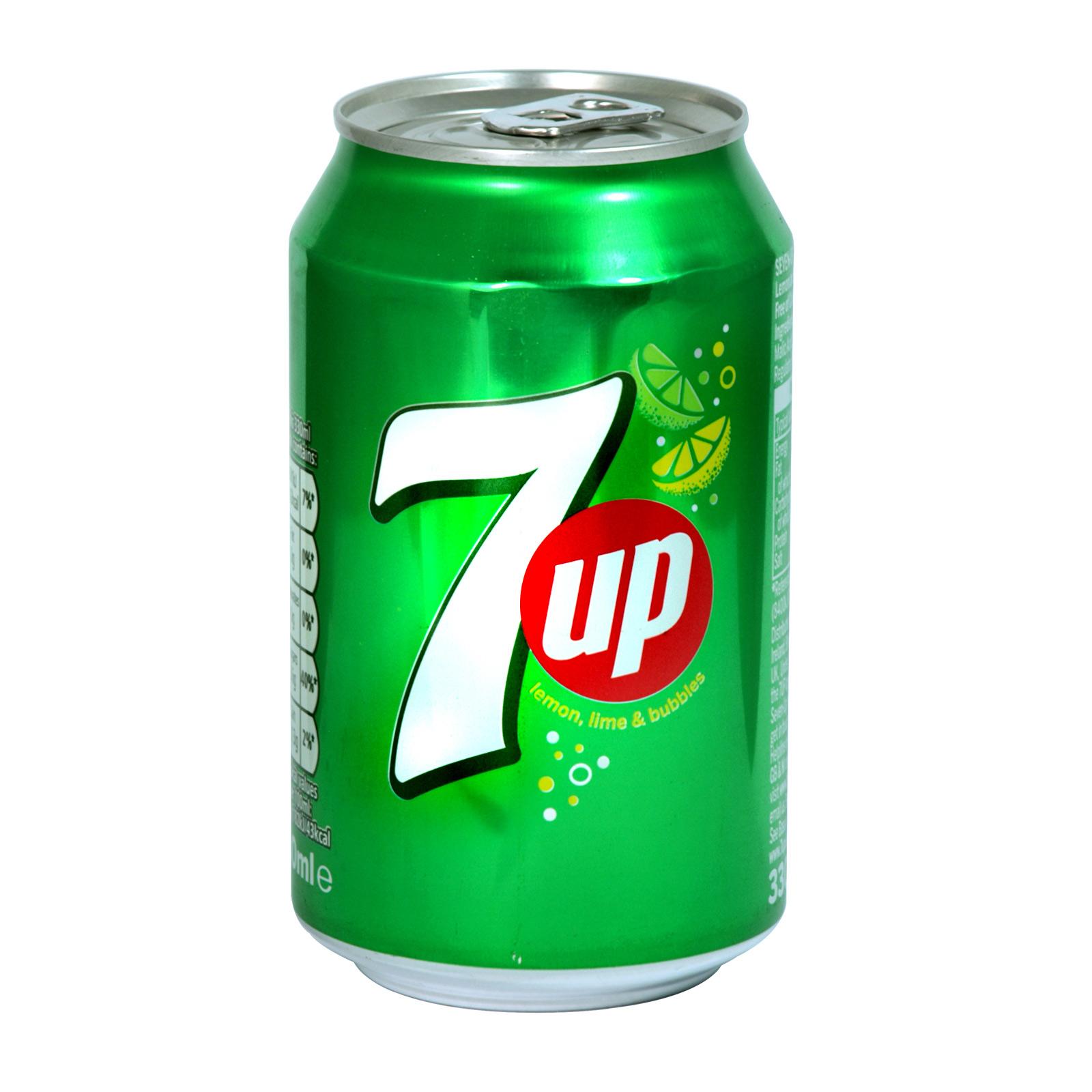 7UP 330ML CAN REGULAR X24