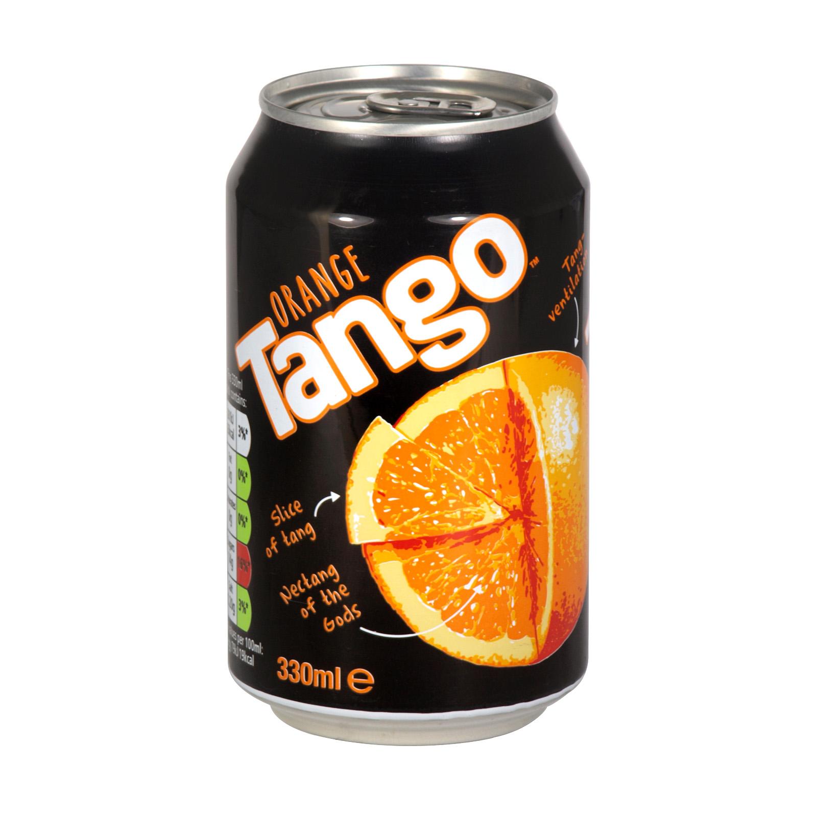 TANGO 330ML CAN ORANGE X24