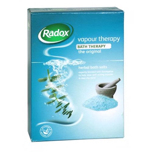 RADOX BATH SALTS 400G VAPOUR THERAPY X6