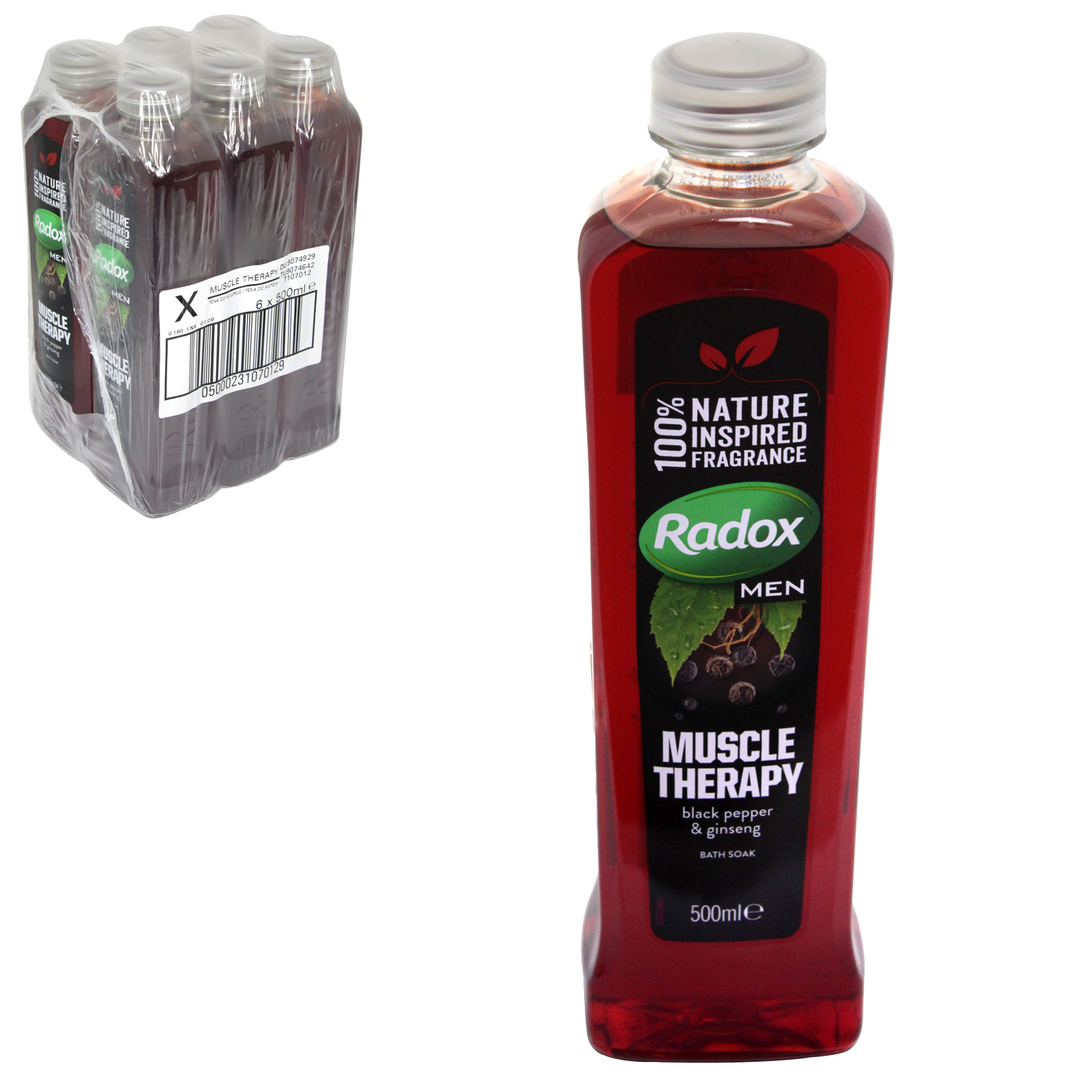 RADOX HERBAL BATH 500ML MUSCLE THERAPY PM ?1.49 X6