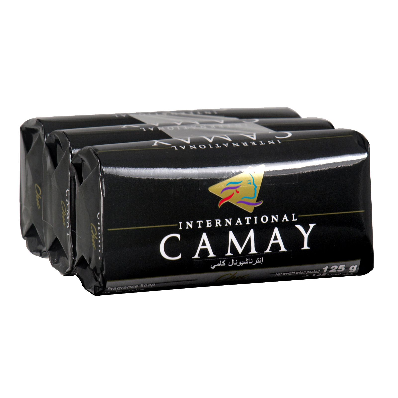 CAMAY SOAP 3X125GM CHIC X24