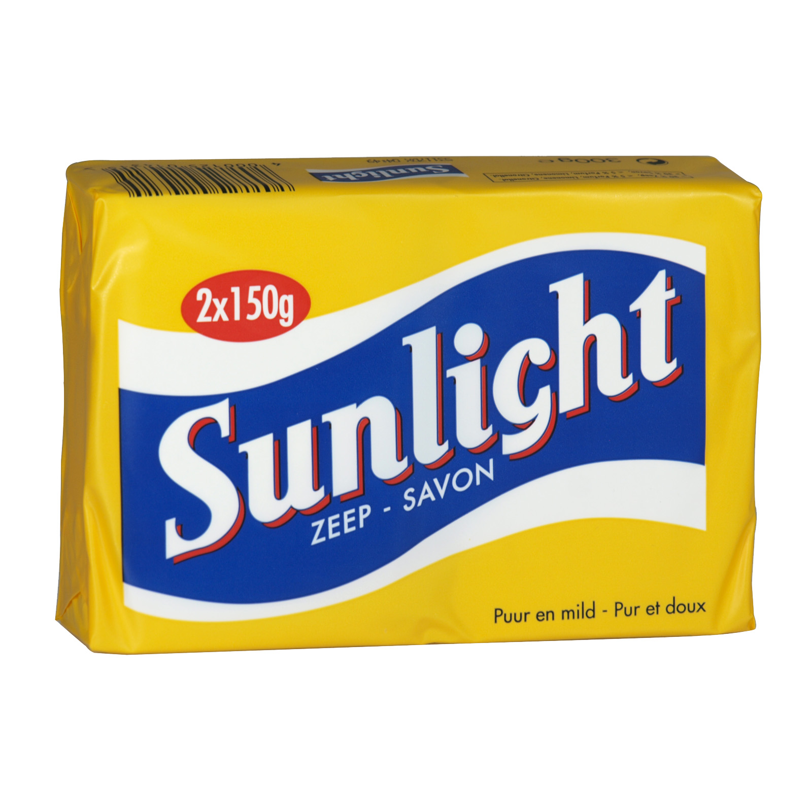 SUNLIGHT HOUSEHOLD SOAP 2X150GM LEMON X24