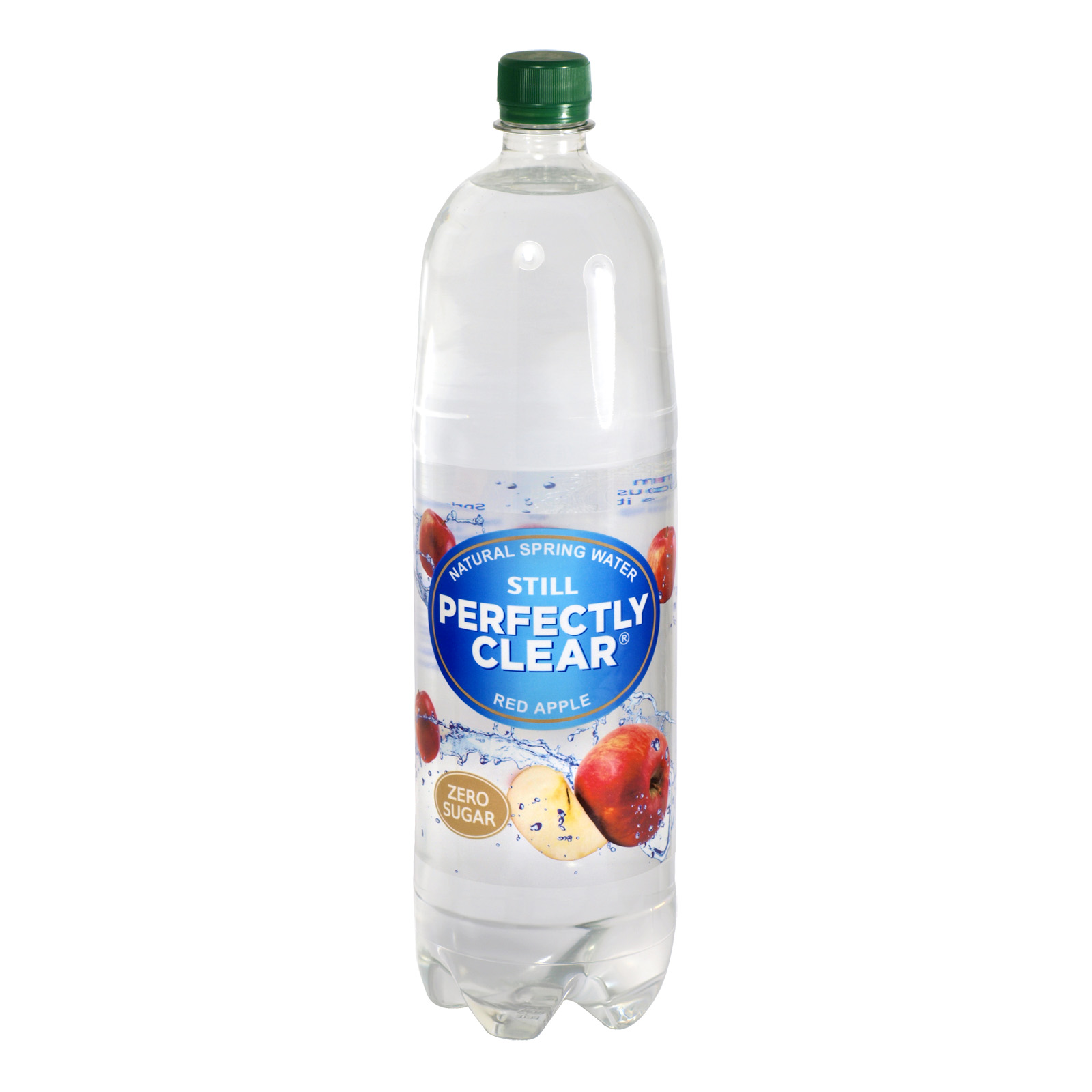 PERFECTLY CLEAR STILL 1.5L RED APPLE X8