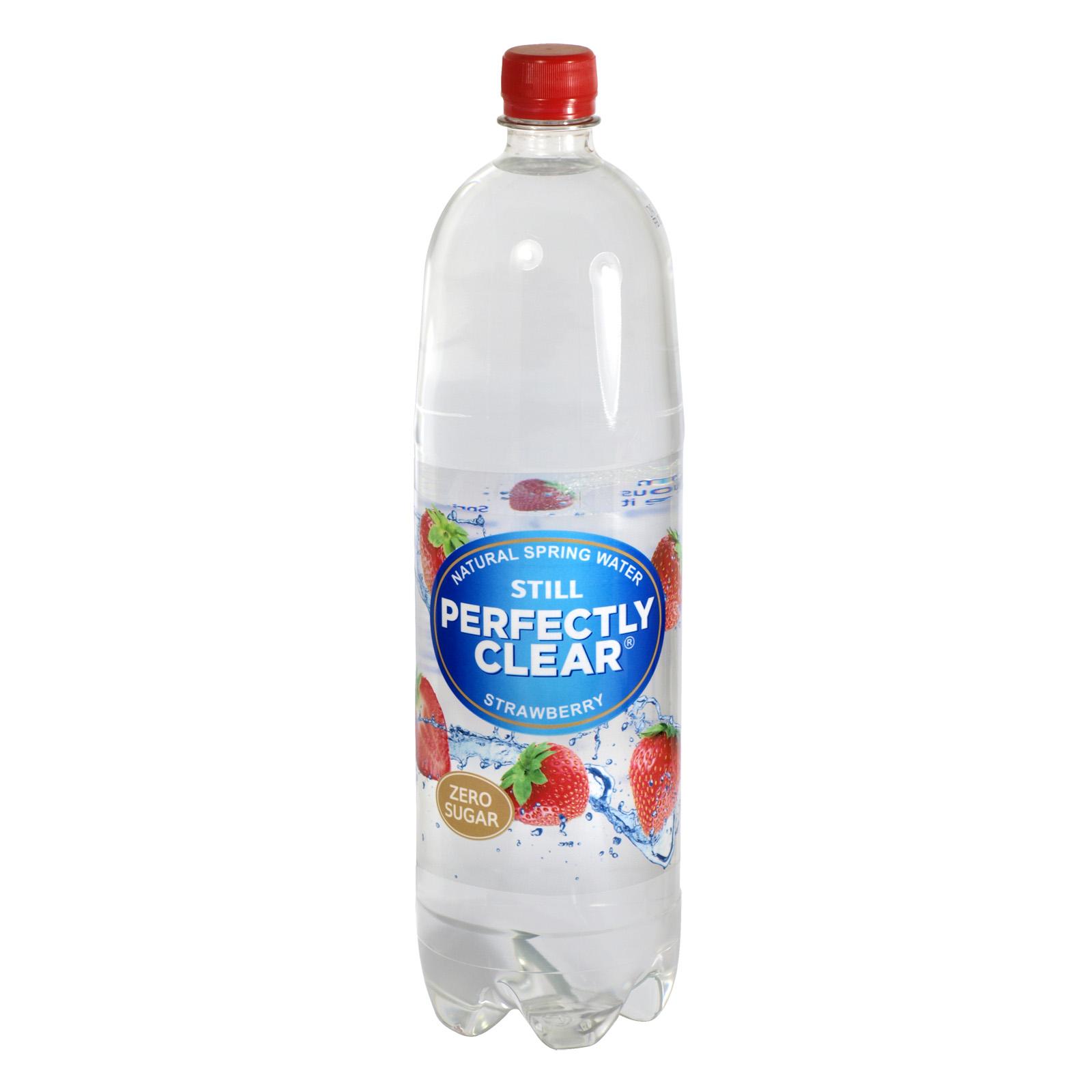 PERFECTLY CLEAR STILL 1.5L STRAWBERRY X8