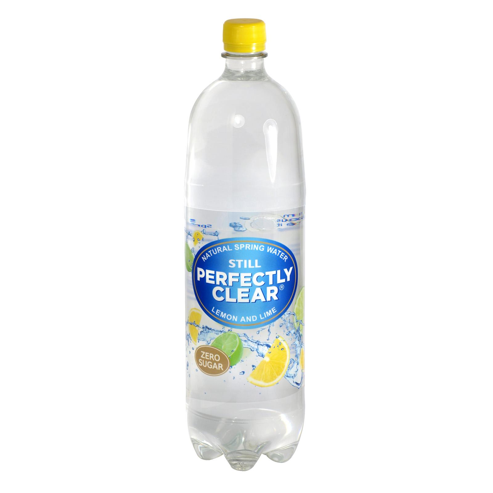 PERFECTLY CLEAR STILL 1.5L LEMON & LIME X8