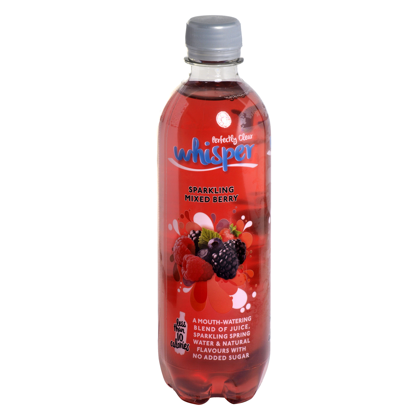 PERFECTLY CLEAR WHISPER 500ML SPARKLING MIXED BERRY X12