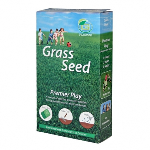 GRASS SEED PREM PLAY 200G COVER 12M2
