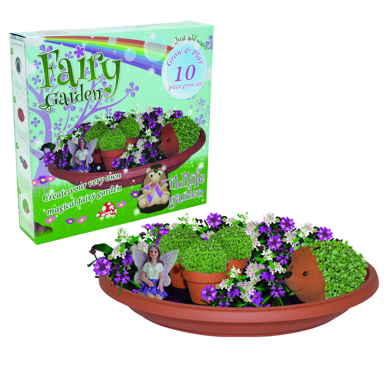 G PLANT FAIRY GARDEN G/SET FURRY PET