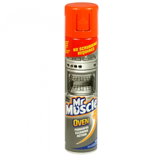 MR MUSCLE OVEN CLEANER 300ML X6