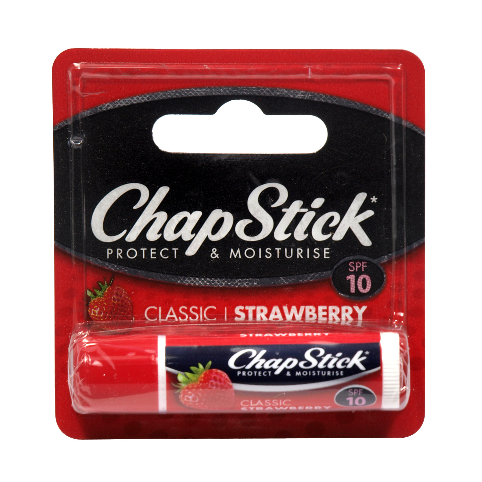 CHAPSTICK LIP BALM STRAWBERRY X12