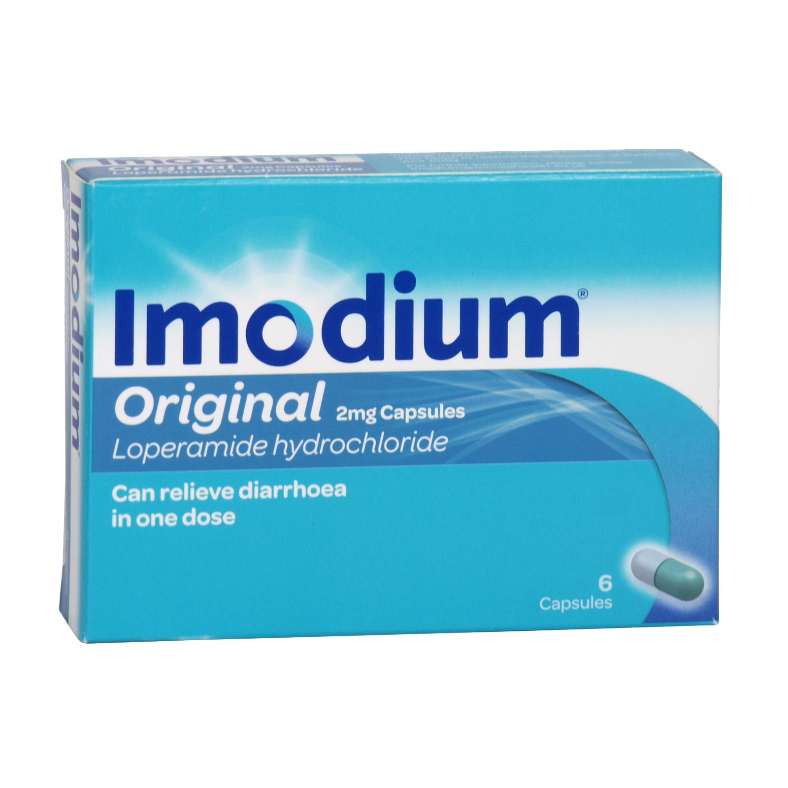 IMODIUM CAPSULES 6S X6