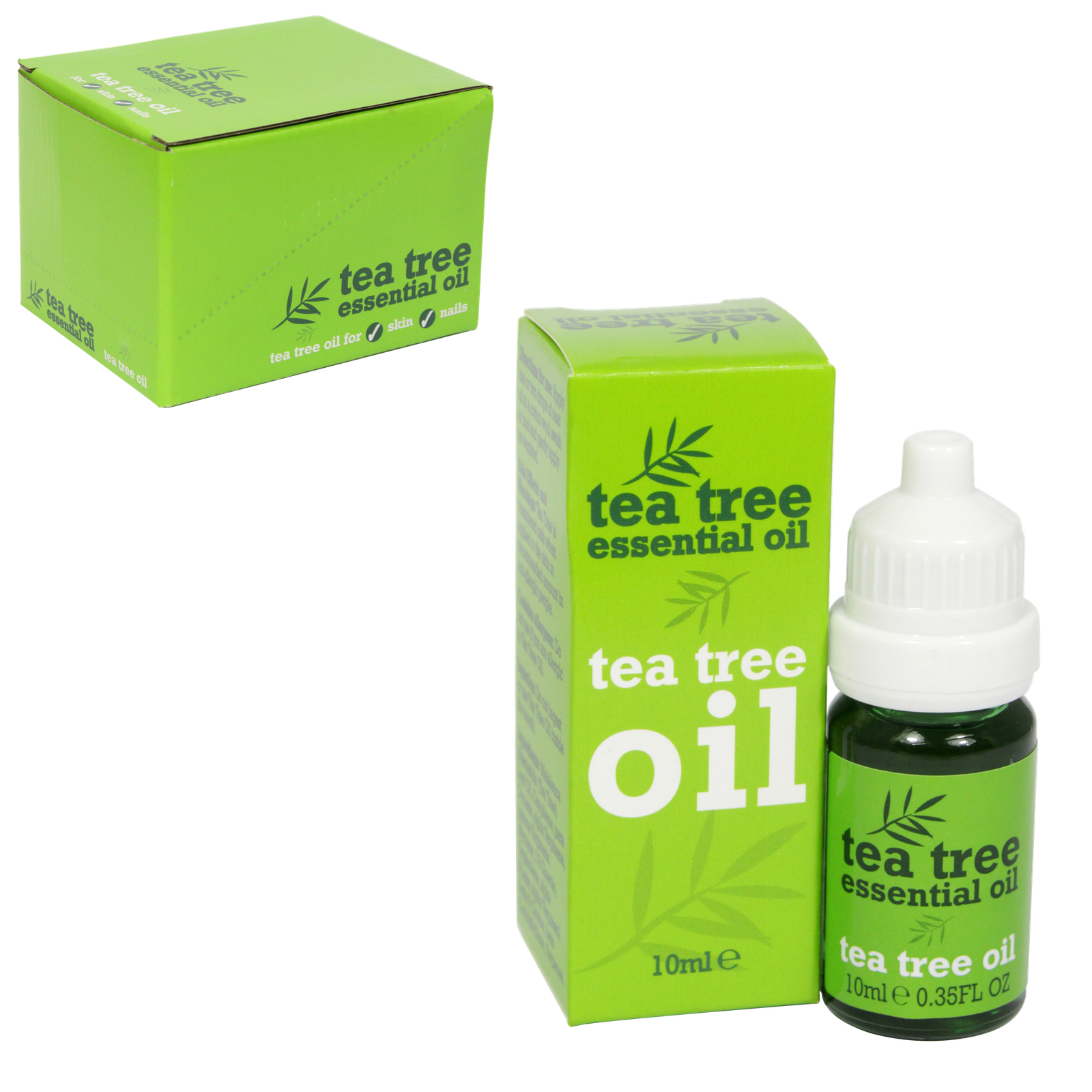 TEA TREE ESSENTIAL OIL 10ML X12