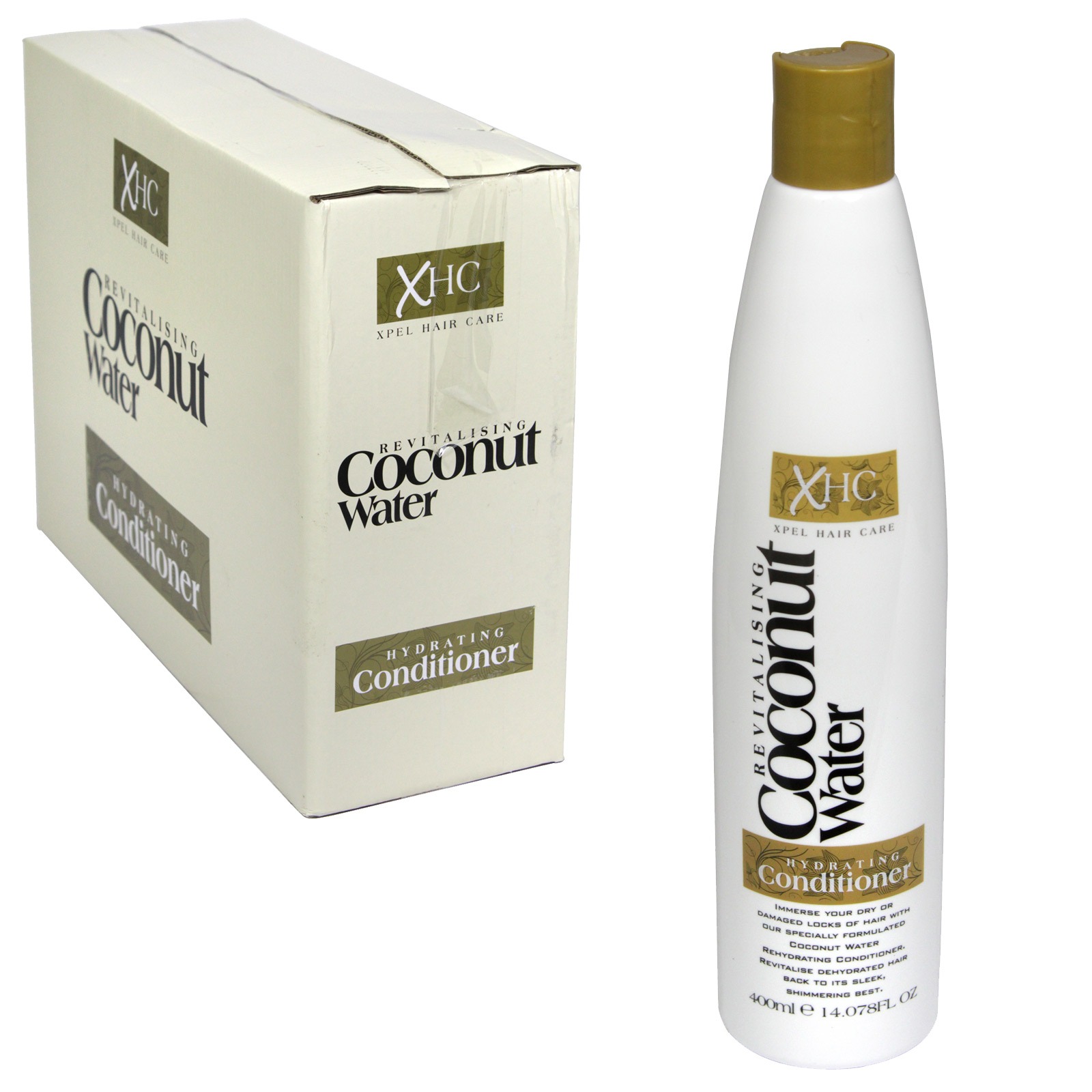 COCONUT WATER 400ML CONDITIONER X12