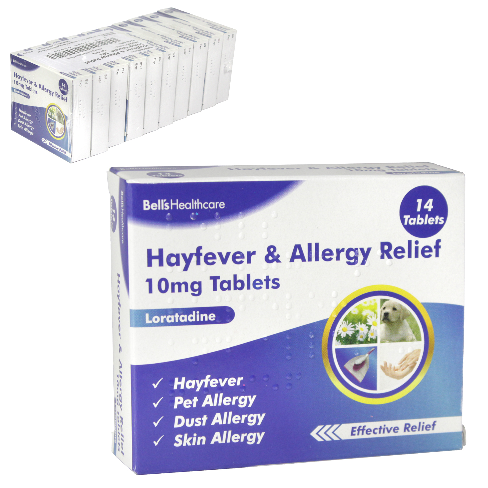 HAYFEVER+ALLERGY OAD 14X10MG LORITADINE X10 (NON RETURNABLE)