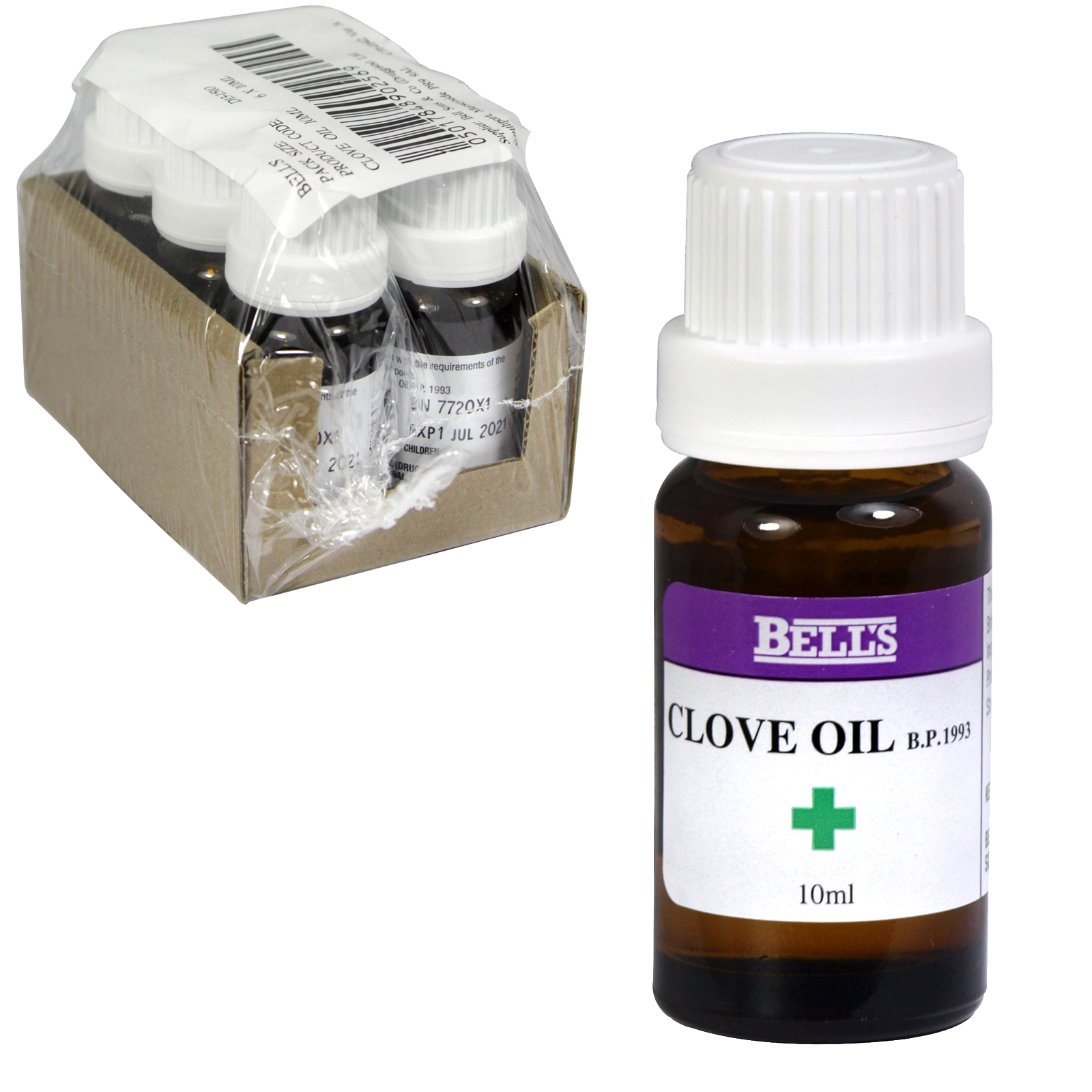 BELLS CLOVE OIL 10ML X6