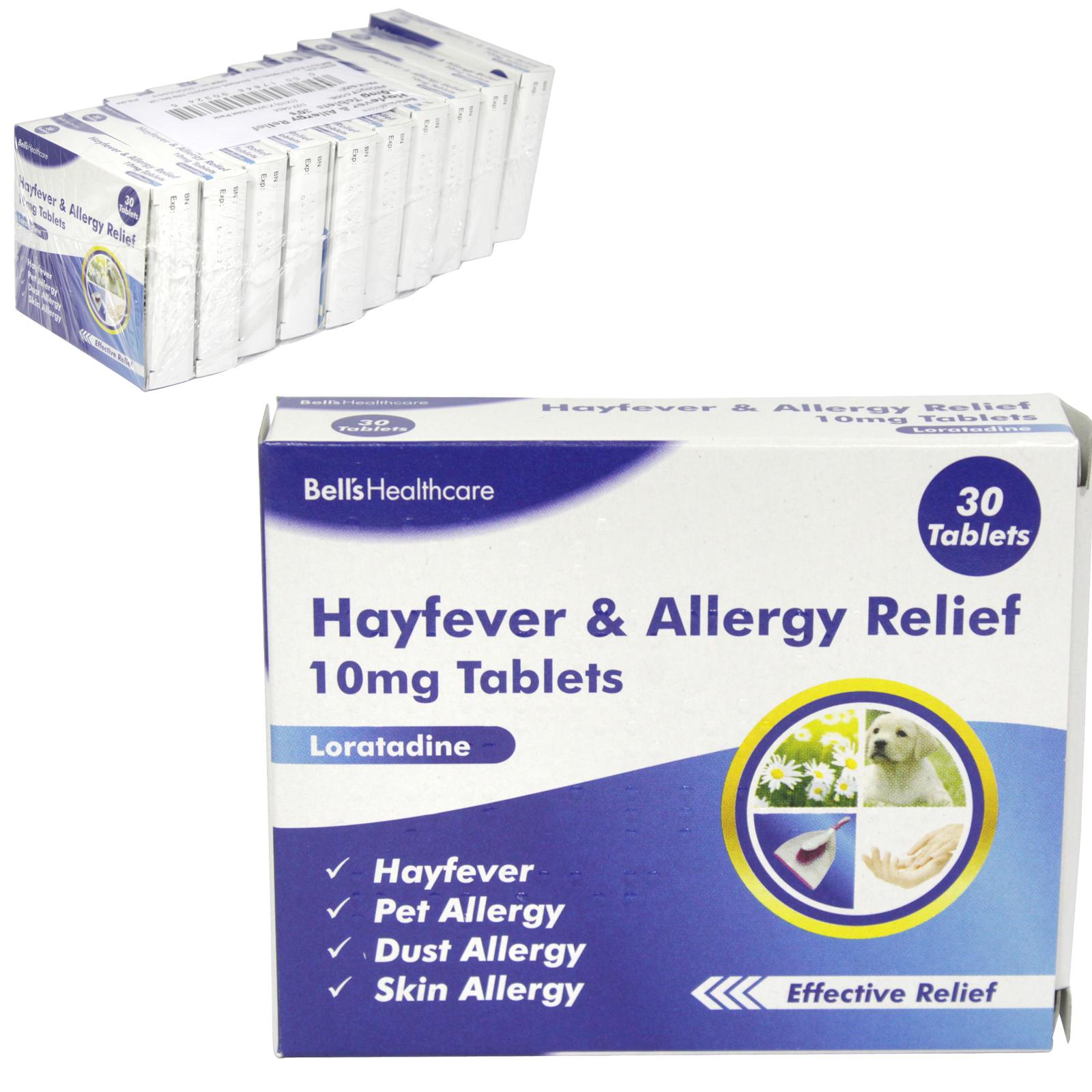 HAYFEVER+ALLERGY OAD 30S LORATADINE X10 (NON RETURNABLE)