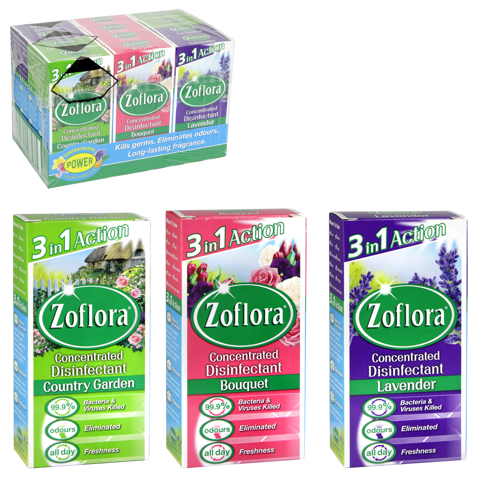 ZOFLORA ASSORTED VARIANTS PACK A X12