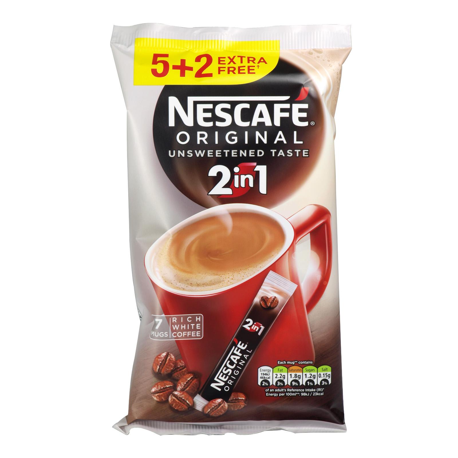 NESCAFE 2IN1 COFFEE (5+2) SACHETS X24