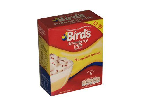 BIRDS STRAWBERRY TRIFLE P/M ?1.39 X12