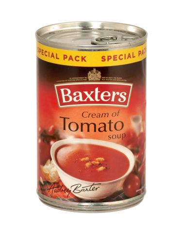 BAXTERS 380GM CREAM OF TOMATO SOUP X12