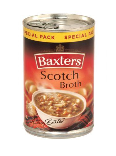 BAXTERS 380GM SCOTCH BROTH SOUP X12