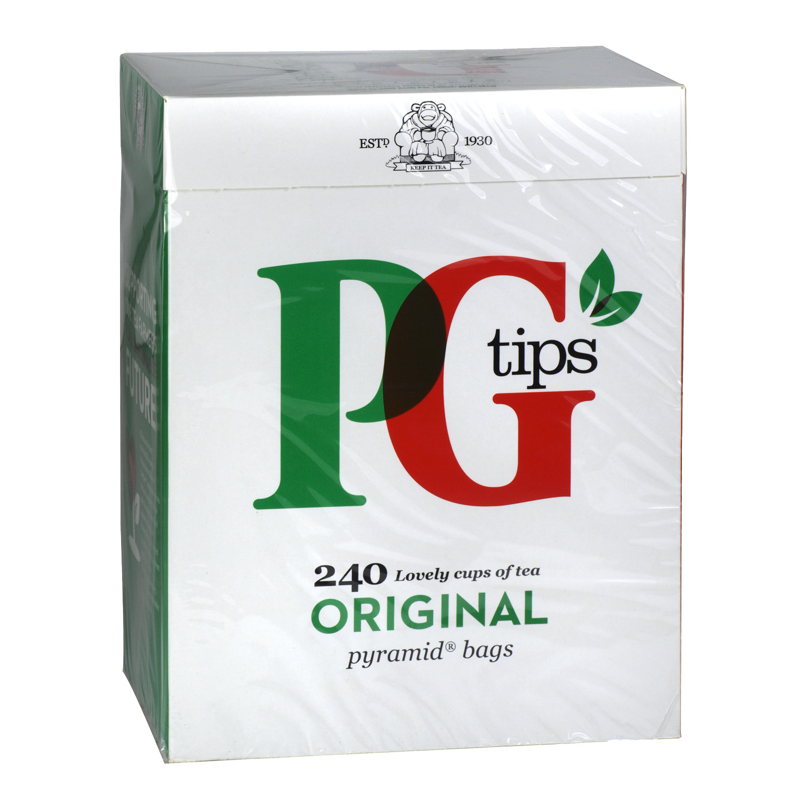 PG TIPS PYRAMID TEABAGS 240S X4