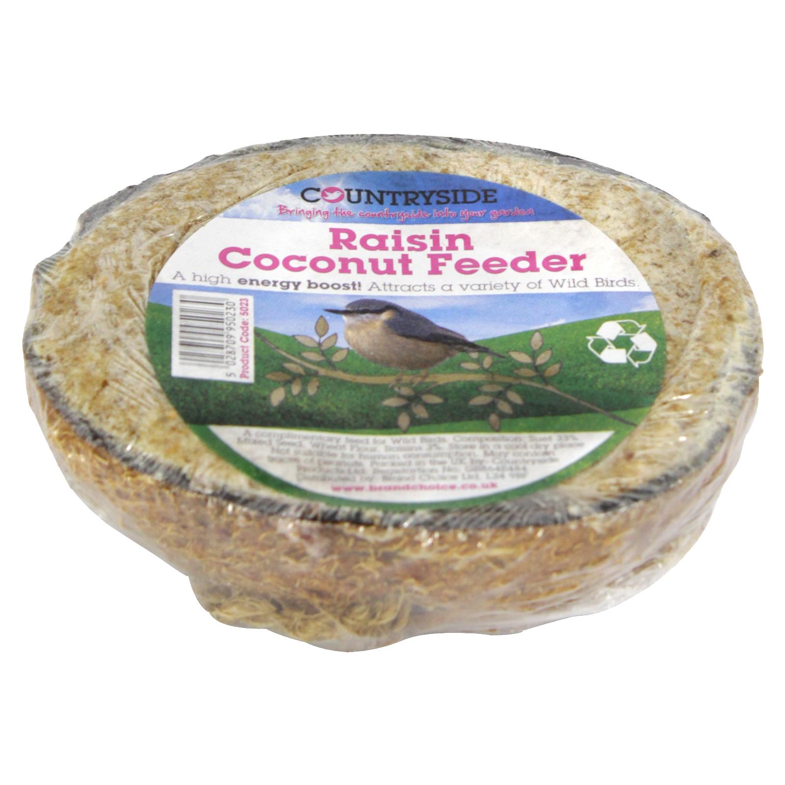 COUNTRYSIDE COCONUT FEEDER+RAISINS
