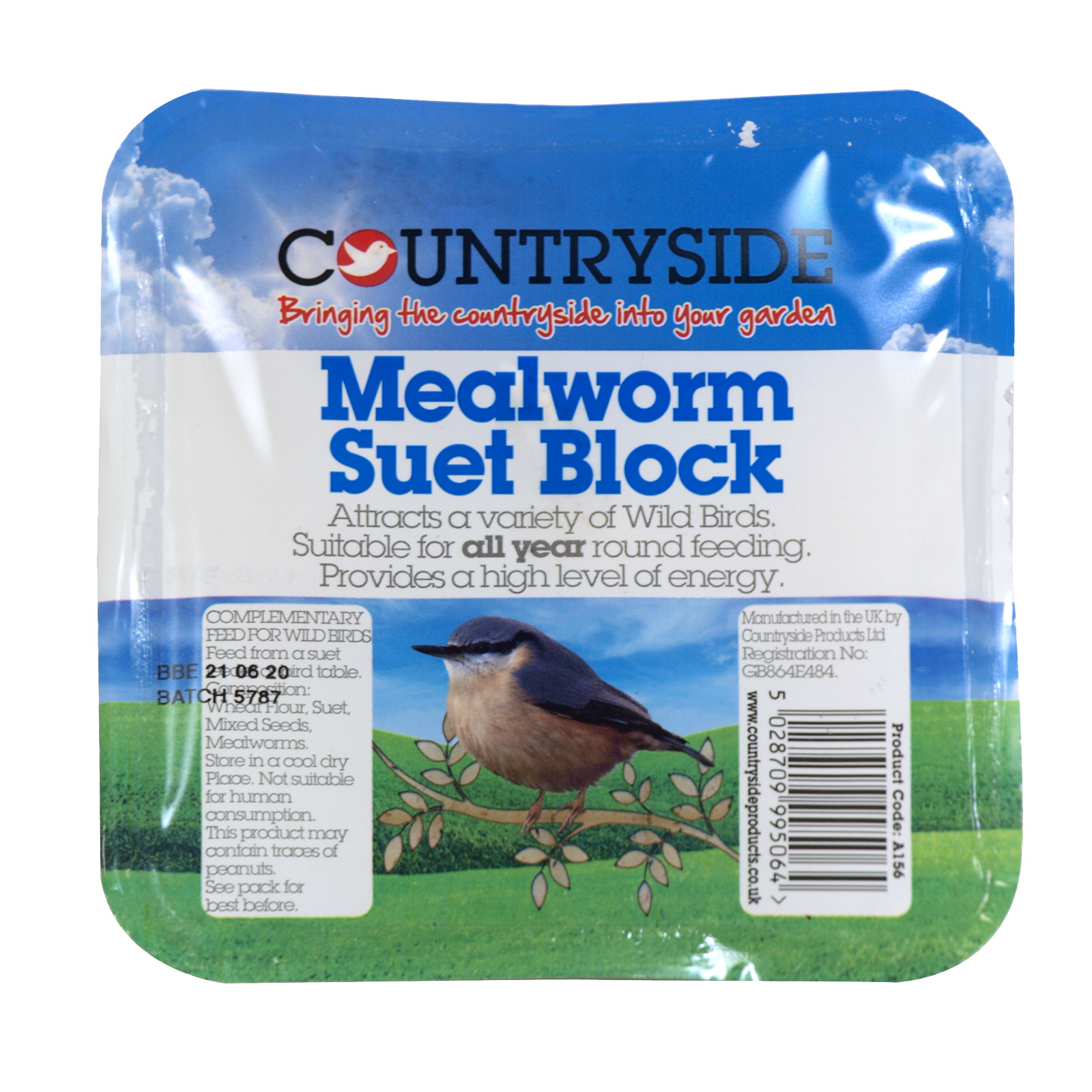 COUNTRYSIDE SUET BLOCK+MEALWORMS