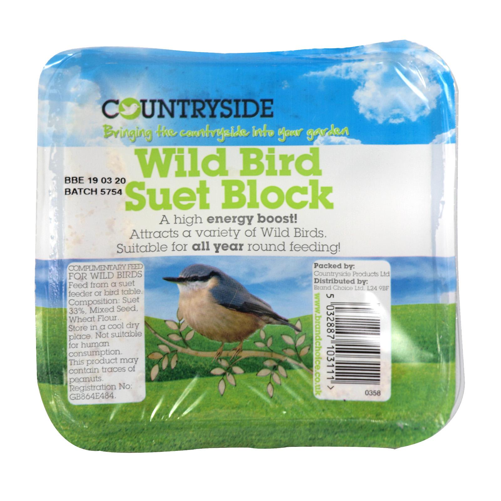 COUNTRYSIDE SUET BLOCK WILD BIRD