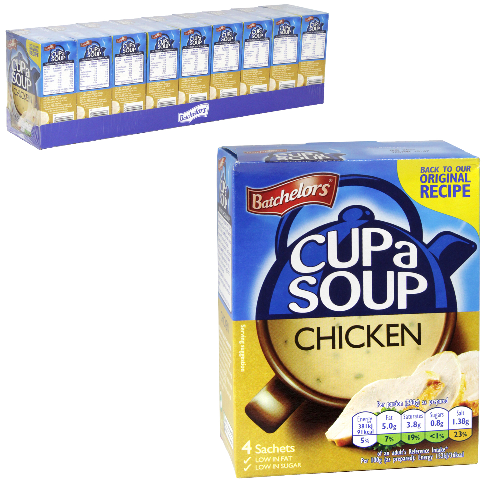 BATCH CUP-A-SOUP 4PK CHICKEN PM ?1.39  X9
