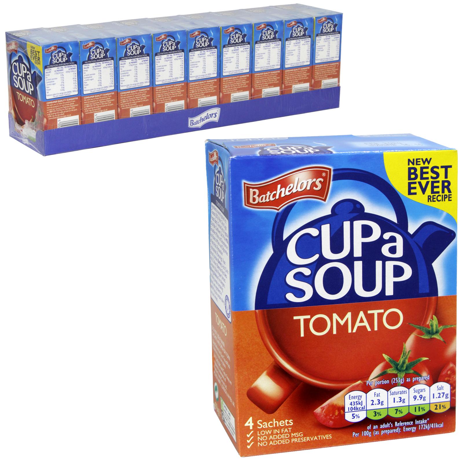 BATCH CUP-A-SOUP 4PK TOMATO PM£1.36 X9