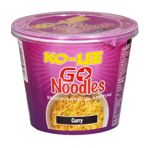 KO-LEE CUP NOODLE 65GM CURRY X6