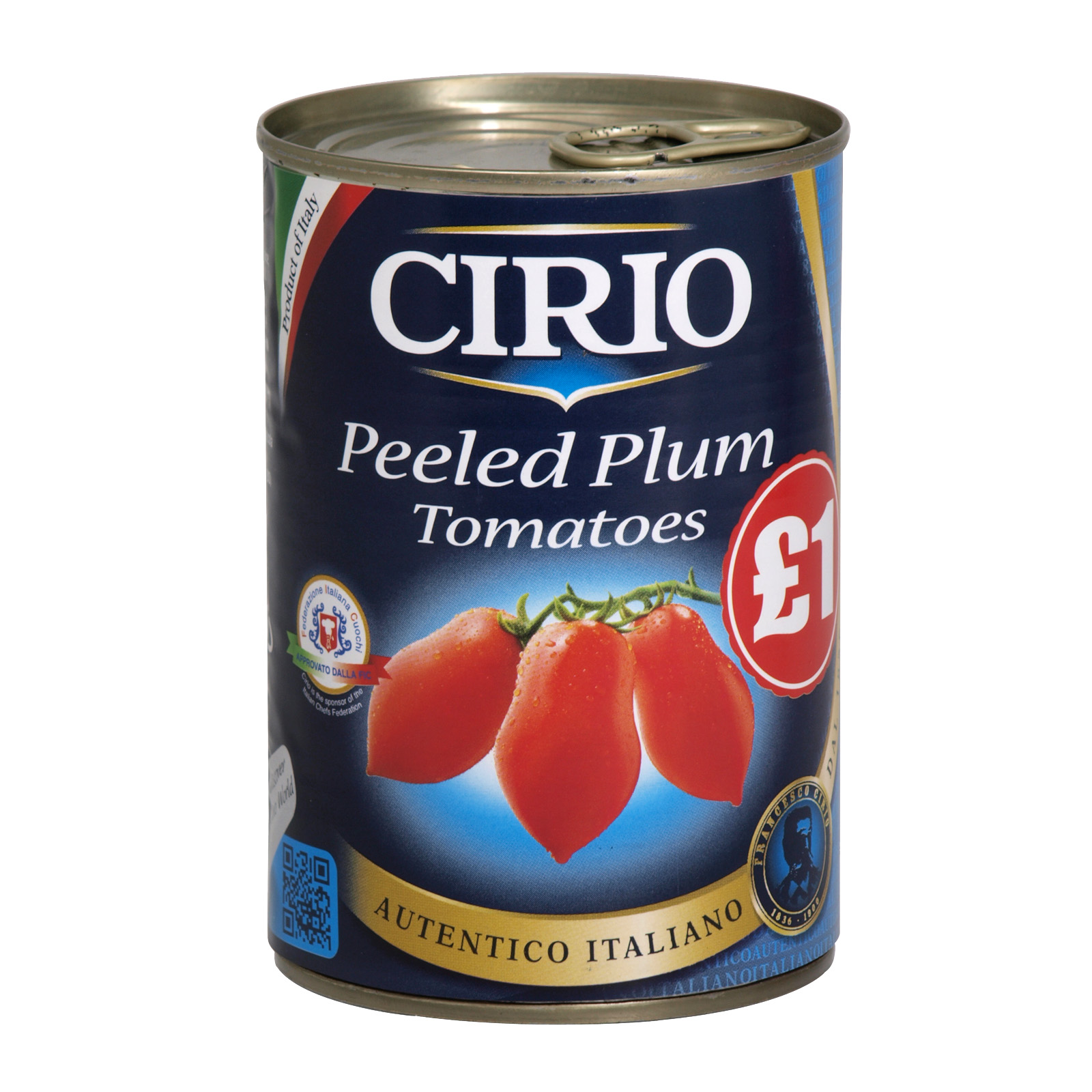 CIRIO PLUM TOMATOES 400GM PM?1 X12