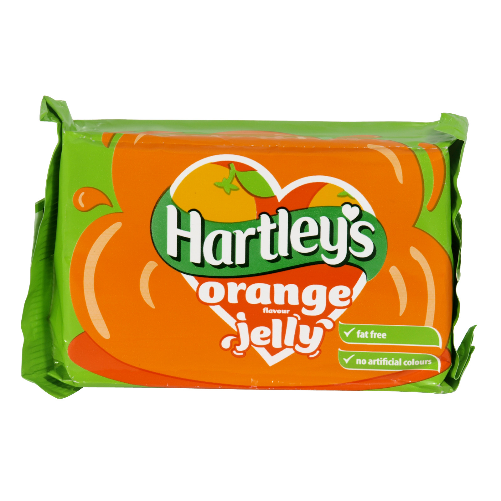 HARTLEYS JELLY TAB 135GM ORANGE X12