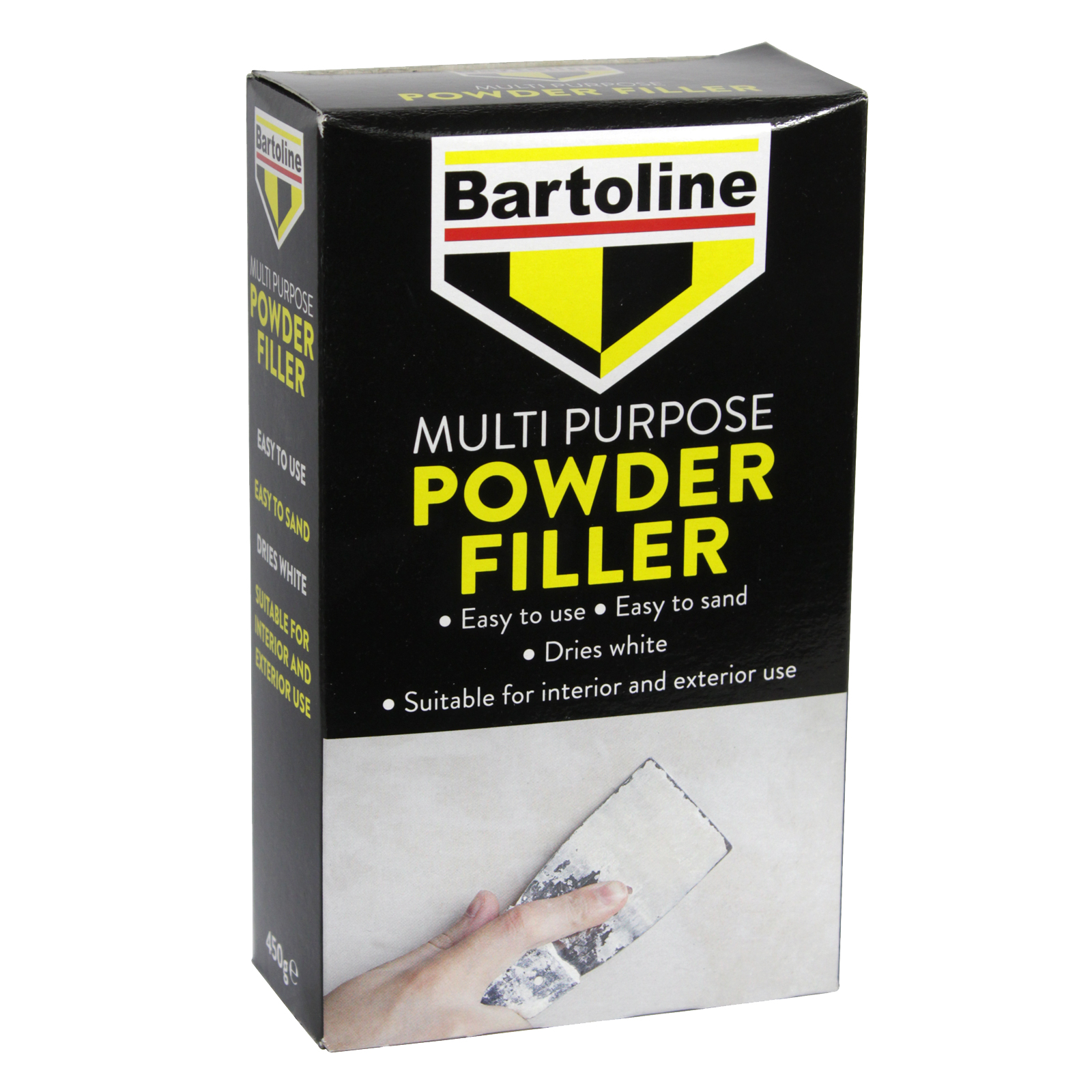 BARTOLINE ALL PURPOSE FILLER 450GM INTERIOR AND EXTERIOR