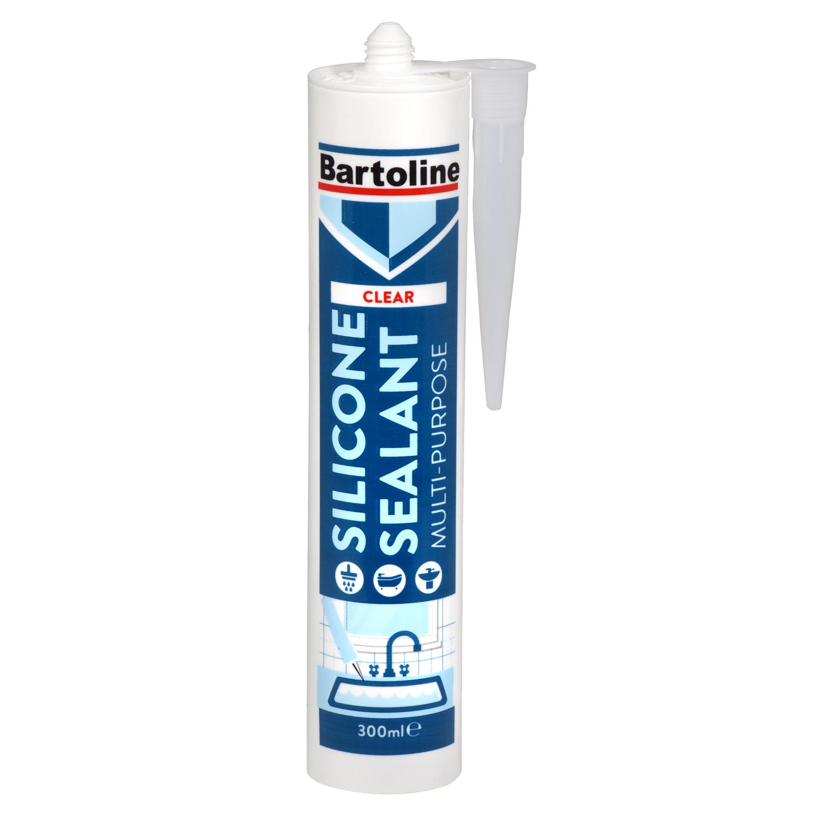 BARTOLINE MULTI PURPOSE SILICONE SEALANT CARTON CLEAR