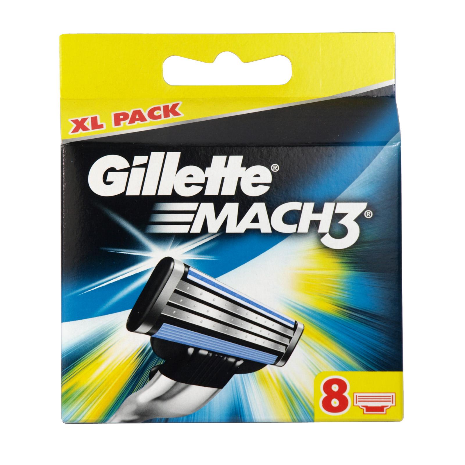 GILLETTE MACH 3 CART 8S