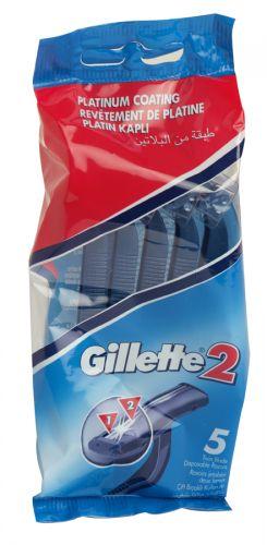 GILLETTE 2 FIXED RAZORS 5S