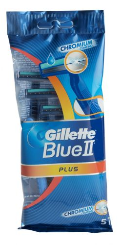 GILLETTE BLUE II PLUS 5S LUBRASTRP