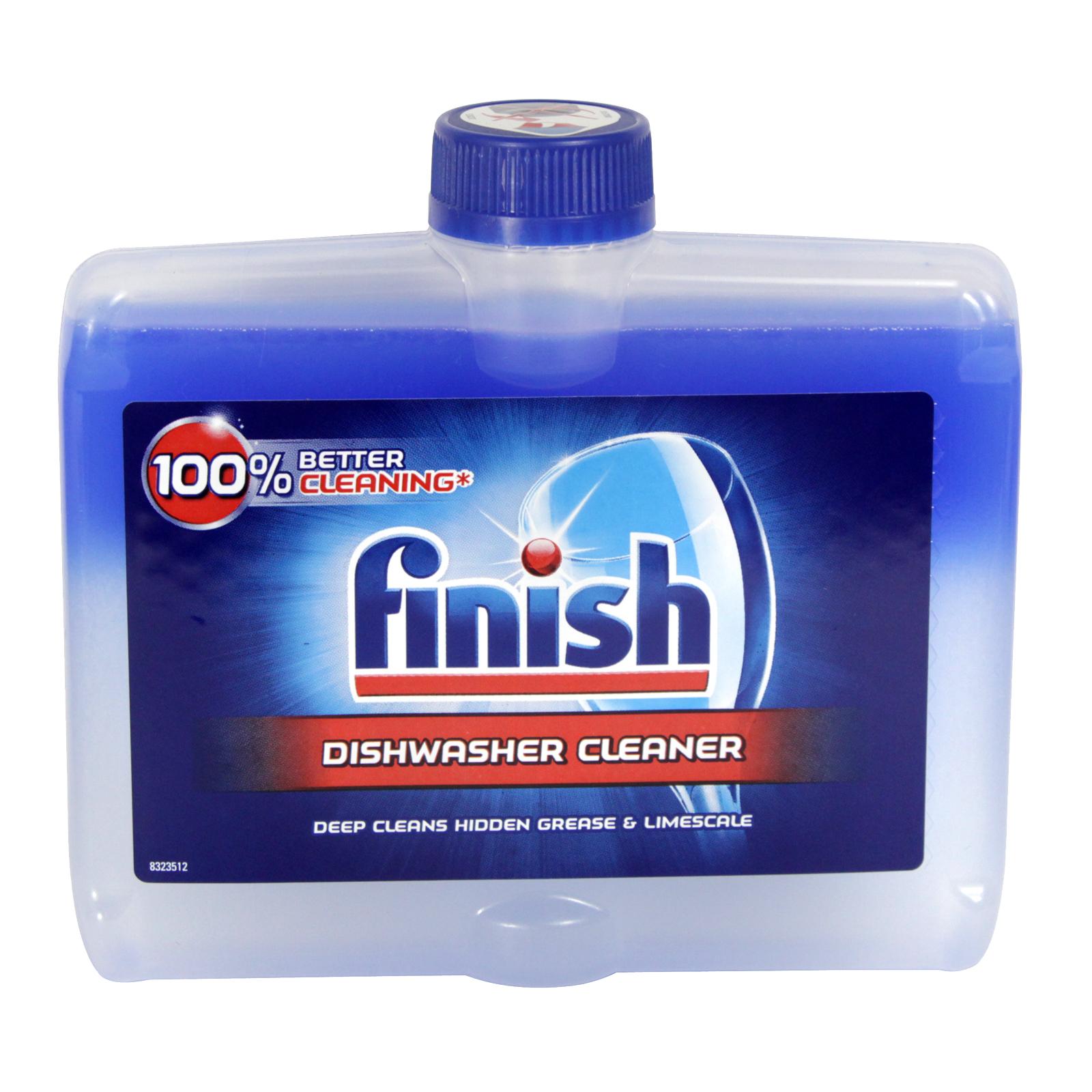 FINISH DISHWASHER CLEANER 250ML REGULAR