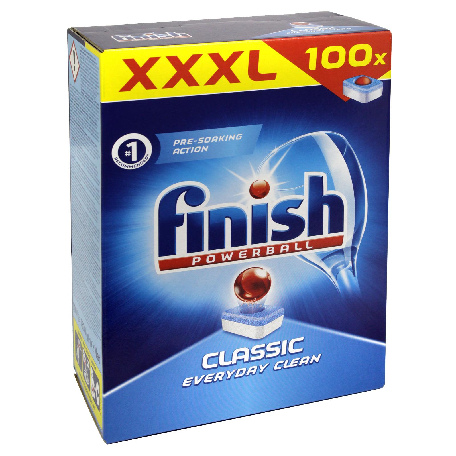 FINISH POWERBALL CLASSIC 100S MEGA