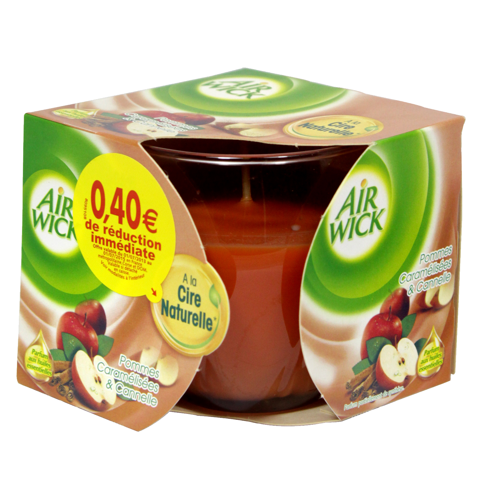 AIRWICK CANDLE 115GM WINTER APPLE
