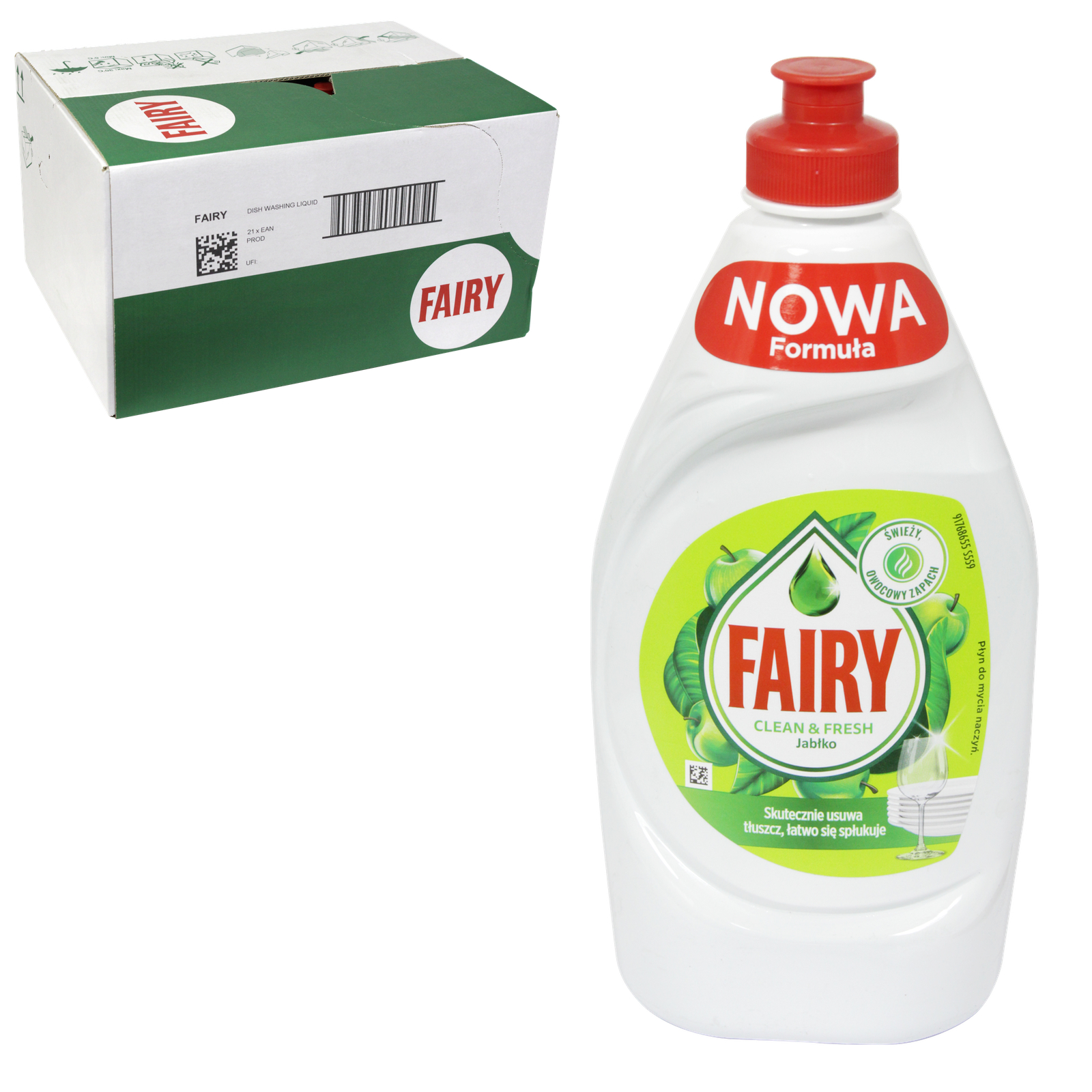FAIRY WASH UP 450ML APPLE X21