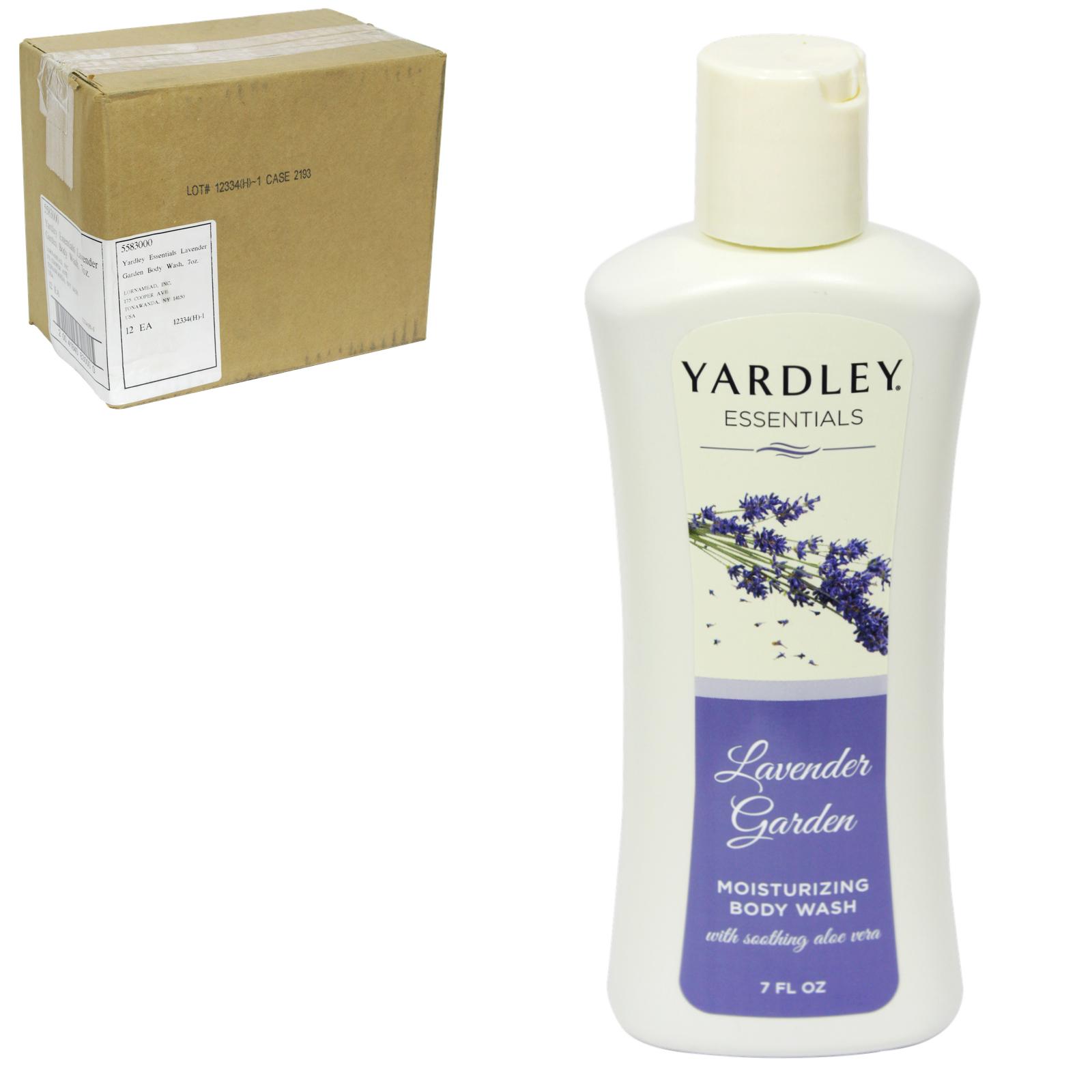 YARDLEY BODYWASH LAVENDER GARDEN X12