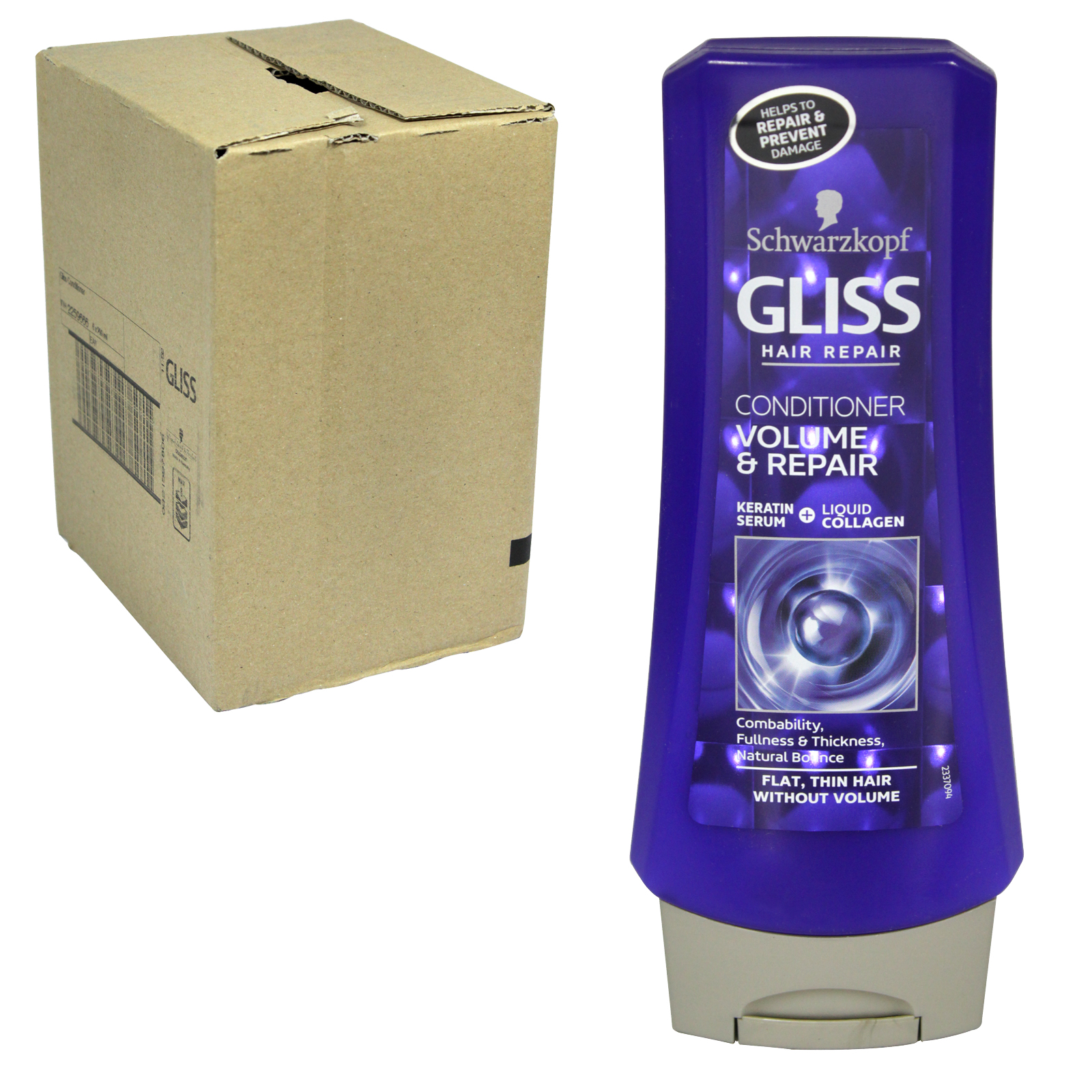 GLISS CONDITIONER 200ML ULTIMATE VOLUME X6